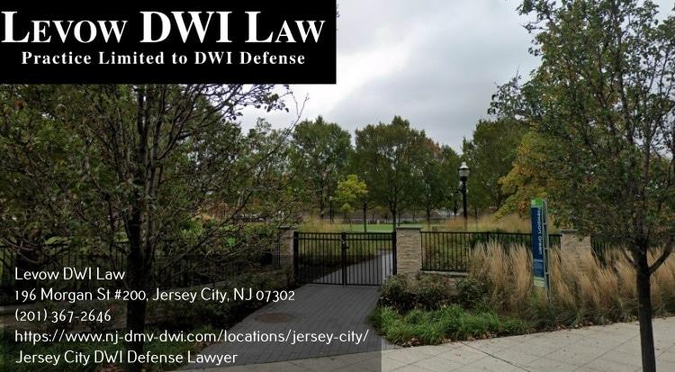DWI defense lawyer in Jersey City, NJ near Newport Green Park