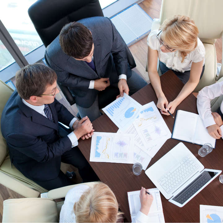 attorneys consulting with medical experts